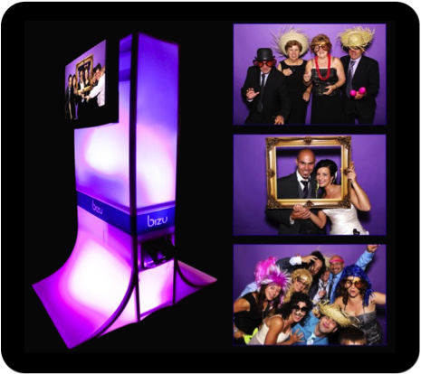 Photo booths add a personal touch to your event!